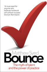 Bounce - by Matthew Syed