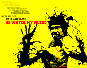be water bruce lee