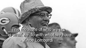 lombardi measure of who we are
