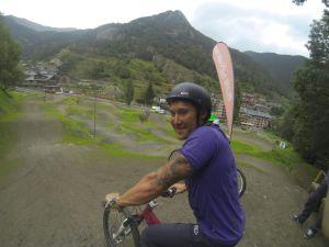 BMX session